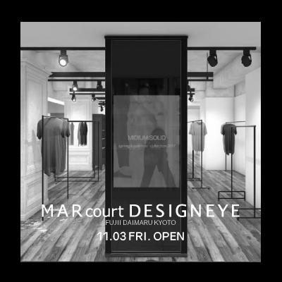 A week before opening MARcourt DESIGNEYE FUJII DAIMARU イメージ