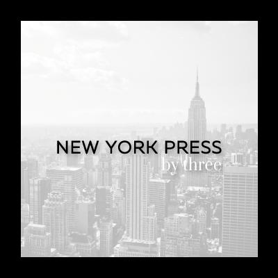 NEW YORK PRESS by three イメージ