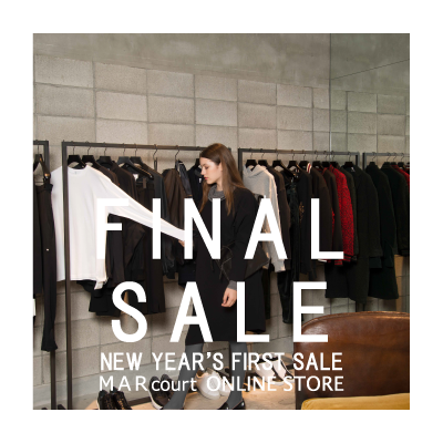 FINAL SALE – NEW YEAR'S FIRST SALE イメージ