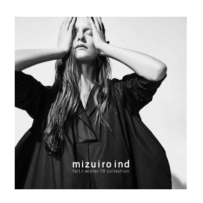mizuiro ind fall / winter 18 exhibition in New York イメージ