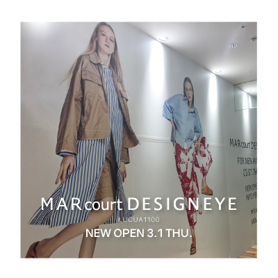 MARcourt DESIGNEYE LUCUA1100 opening a week before イメージ