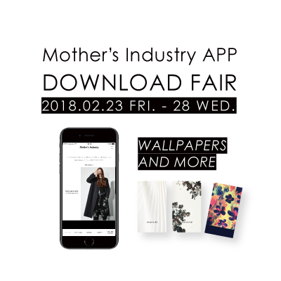 Mother's Industry APP DOWNLOAD FAIR イメージ