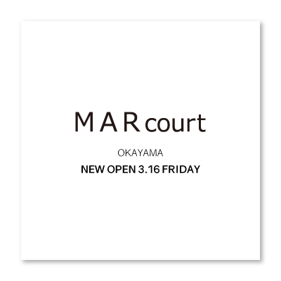 MARcourt OKAYAMA opening three days before イメージ