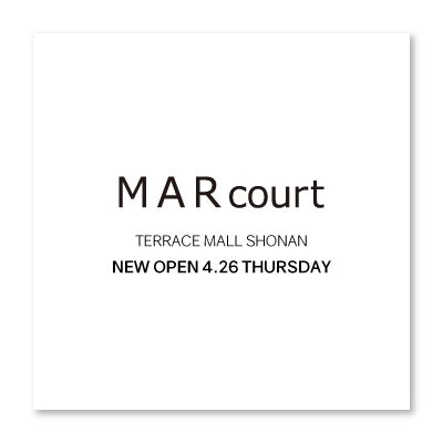 MARcourt TERRACE MALL SHONAN opening three days before イメージ