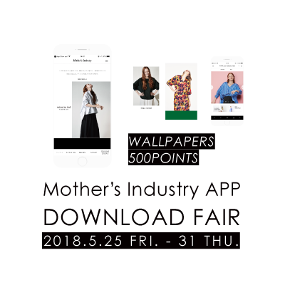 Mother's Industry APP DOWNLOAD FAIR – MARcourt ONLINE STORE イメージ