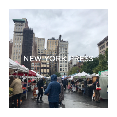 #35 Union Square Green Market in Fall イメージ