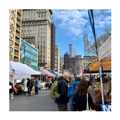 #58 Union Square Green Market in Spring イメージ