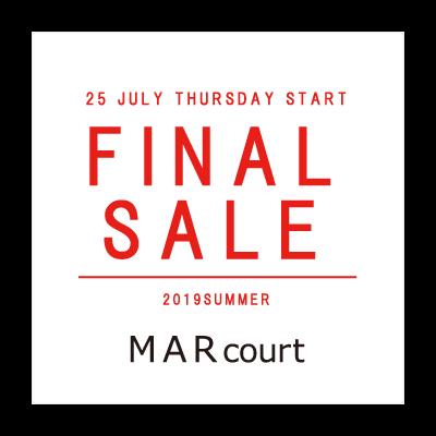 FINAL SALE – MARcourt イメージ