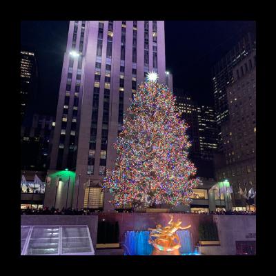 88 Holiday Season in NYC 2019 at Rockefeller Center& Saks Fifth Avenue イメージ