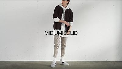 MIDIUMISOLID 21SS M