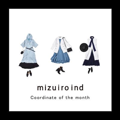 Coordinate of the month mizuiro ind イメージ